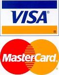 Принимаем к оплате Visa и MasterCard