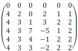 Используя мажорирование стратегий, уменьшить размеры платежной матрицы